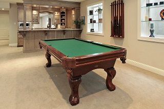 Schertz Billiard Table Room Sizes Billiard Table Room Dimensions Chart - Pool table movers austin tx
